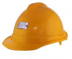 NIKKI HARD HAT  WITH 2 CLOSED VENTS + STD LINER + CAP LAMP BRACKET