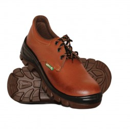 TAN NEOGRIP LEATHER SHOES