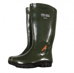 GUMBOOT SHOVA GREEN WITH BLACK SOLE GENERAL PURPOSE
