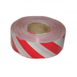 TAPE BARRIER 500M WHITE AND RED
