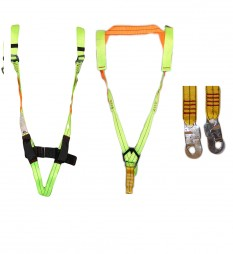 HARNESS FULL BODY WITH DOUBLE LANYARDS