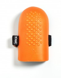 GUARD KNEE ORANGE PVC WITH DOUBLE STRAP K1 OR/DS