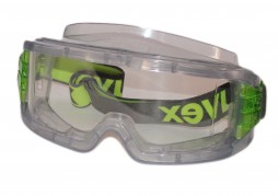 GOGGLES ULTRA VISION TRANSPARENT GREY 9301 105 POLYCARB