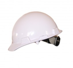 HARD HAT FALCON WHITE STD WITH RATCHET