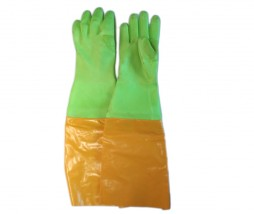 GLOVES PVC ELBOW LENGTH 600MM PE2XEXT