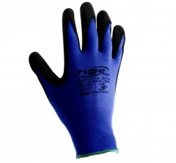 GLOVE FLEXINITE GRIP GLO300 BLACK NITRILE