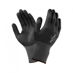 GLOVE FOAM NITRILE PALM DIP COATING KNITWRIST