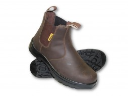BROWN PRIDE CHELSEA SAFETY BOOT