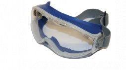 PRIDE GOGGLES BLUE POLYCARBONATE CLEAR COMES WITH ELASTIC