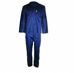 PRIDE CONTI SUIT OVERALL NAVY POLYCOTTON