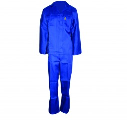 PRIDE CONTI SUIT OVERALL BLUE POLYCOTTON