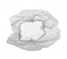 FORCE - DOUBLE ELASTIC WHITE MOP CAP