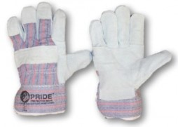 PRIDE LEATHER CANDY STRIPE GLOVES