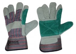 PRIDE REINFORCED LEATHER CANDY STRIPE GLOVE