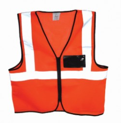 PRIDE ORANGE SAFETY VEST