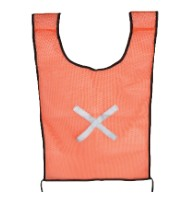 FORCE ORANGE SAFETY BIB