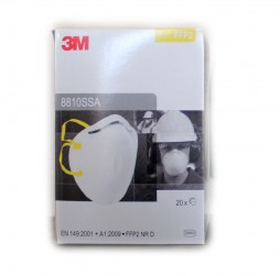 DISPOSABLE FFP2 RESPIRATOR MASK FOR DUST OR MIST BOX OF 20